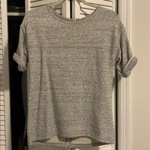 Grey sweater shirt